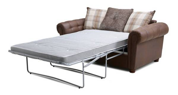 Alton Pillow Back 2 Seater Deluxe Sofa Bed