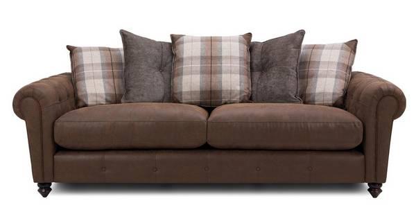Alton Pillow Back 4 Seater Sofa