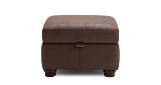 Alton Plain Storage Footstool