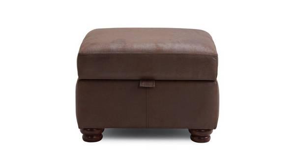Alton Plain Storage Footstool