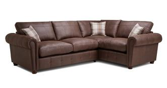 Alton Formal Back Left Hand Facing 3 Seater Corner Sofa Bed