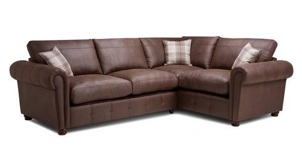 Alton Formal Back Left Hand Facing 3 Seater Corner Sofa Bed