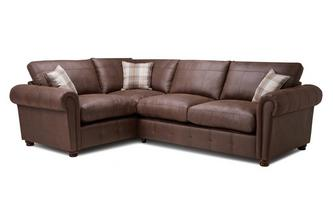 Formal Back Right  Hand Facing 3 Seater Corner Sofa Bed Oakland