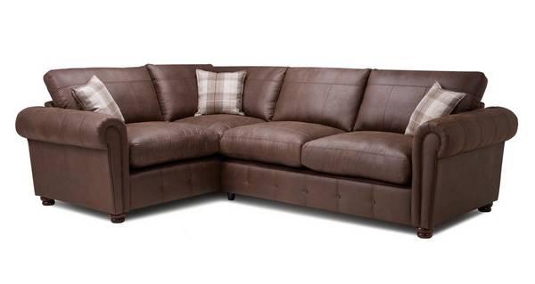 Alton Formal Back Right  Hand Facing 3 Seater Corner Sofa Bed