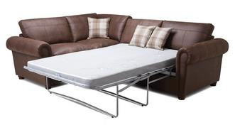 Alton Formal Back Right Hand Facing 3 Seater Deluxe Corner Sofa Bed