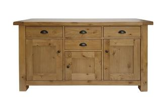 3 Door 4 Drawer Sideboard