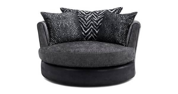 Alvia Large Swivel Chair