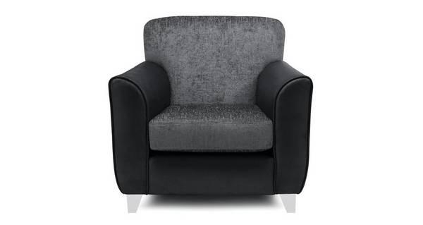 Alvia Plain Accent Chair