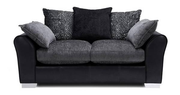 Alvia Pillow Back 2 Seater Sofa
