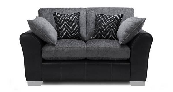 Alvia Formal Back Small 2 Seater Sofa