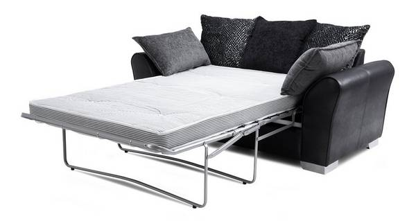 Alvia Pillow Back 2 Seater Deluxe Sofa Bed