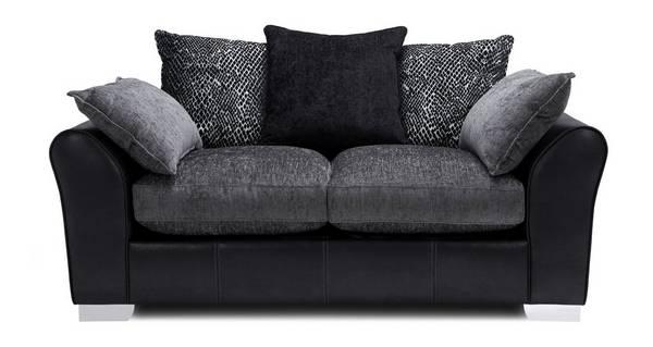Alvia Pillow Back 2 Seater Supreme Sofa Bed