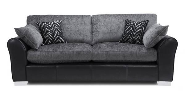 Alvia Formal Back 4 Seater Sofa