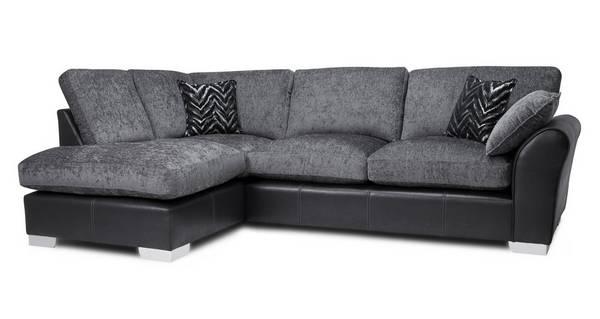 Alvia Formal Back Right Hand Facing Open End Corner Sofa