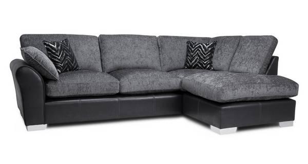 Alvia Formal Back Left Hand Facing Open End Corner Sofa