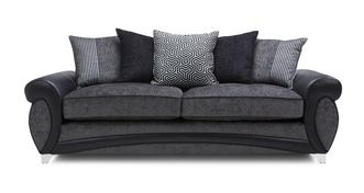 Amara 4 Seater Pillow Back Sofa