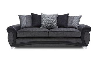 4 Seater Pillow Back Sofa Amara