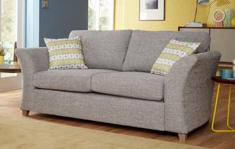 Amelie Formal Back Large 2 Seater Deluxe Sofa Bed Amelie