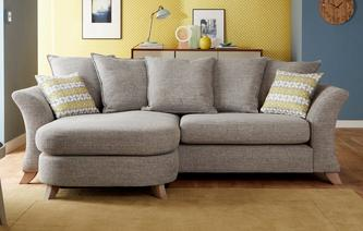 Amelie Pillow Back 4 Seater Lounger Sofa Amelie