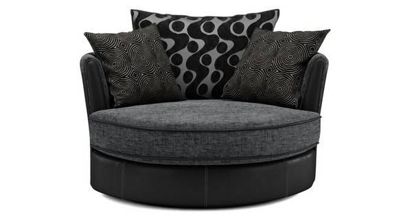 Amelle Cuddler Swivel Chair