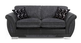 Amelle Large 2 Seater Formal  Back Deluxe Sofa Bed