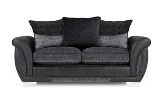Amelle Large 2 Seater Pillow Back Deluxe Sofa Bed Talia