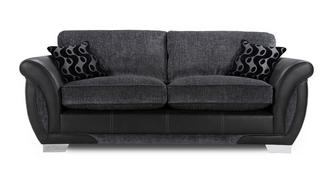 Amelle 3 Seater Formal Back Sofa