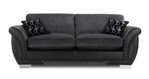 Amelle 3 Seater Formal Back Sofa