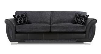 Amelle 4 Seater Formal Back Sofa