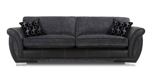 Amelle 4 Seater Formal Back Sofa