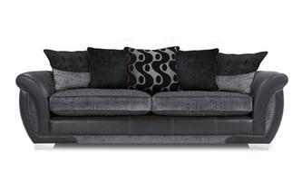 4 Seater Pillow Back Sofa Talia