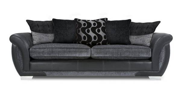 Amelle 4 Seater Pillow Back Sofa