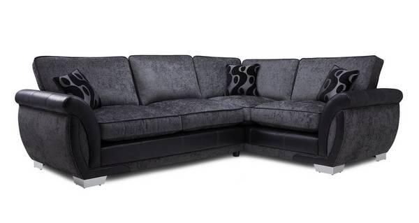 Amelle Left Hand Facing 3 Seater Formal Back Corner Sofa
