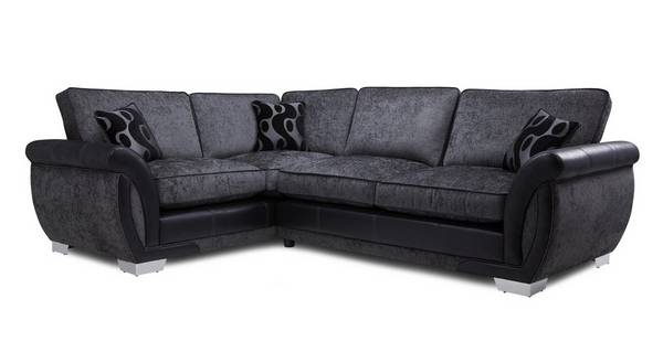 Amelle Right Hand Facing Formal Back Deluxe Corner Sofa Bed