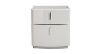 Amure 2 Drawer Bedside Table