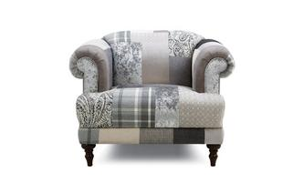 Anastasia Patch Armchair Aspen Patch