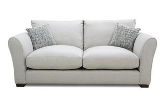 Formal Back Small Sofa