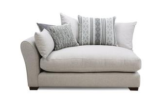 Pillow Back Left Hand Facing Arm 1.5 Seat Unit
