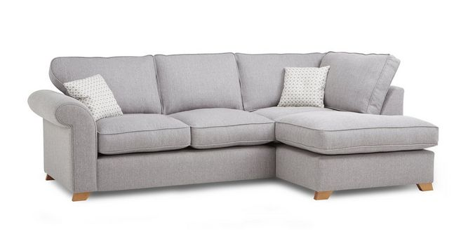 Angelic Left Arm Facing Corner Sofa | DFS
