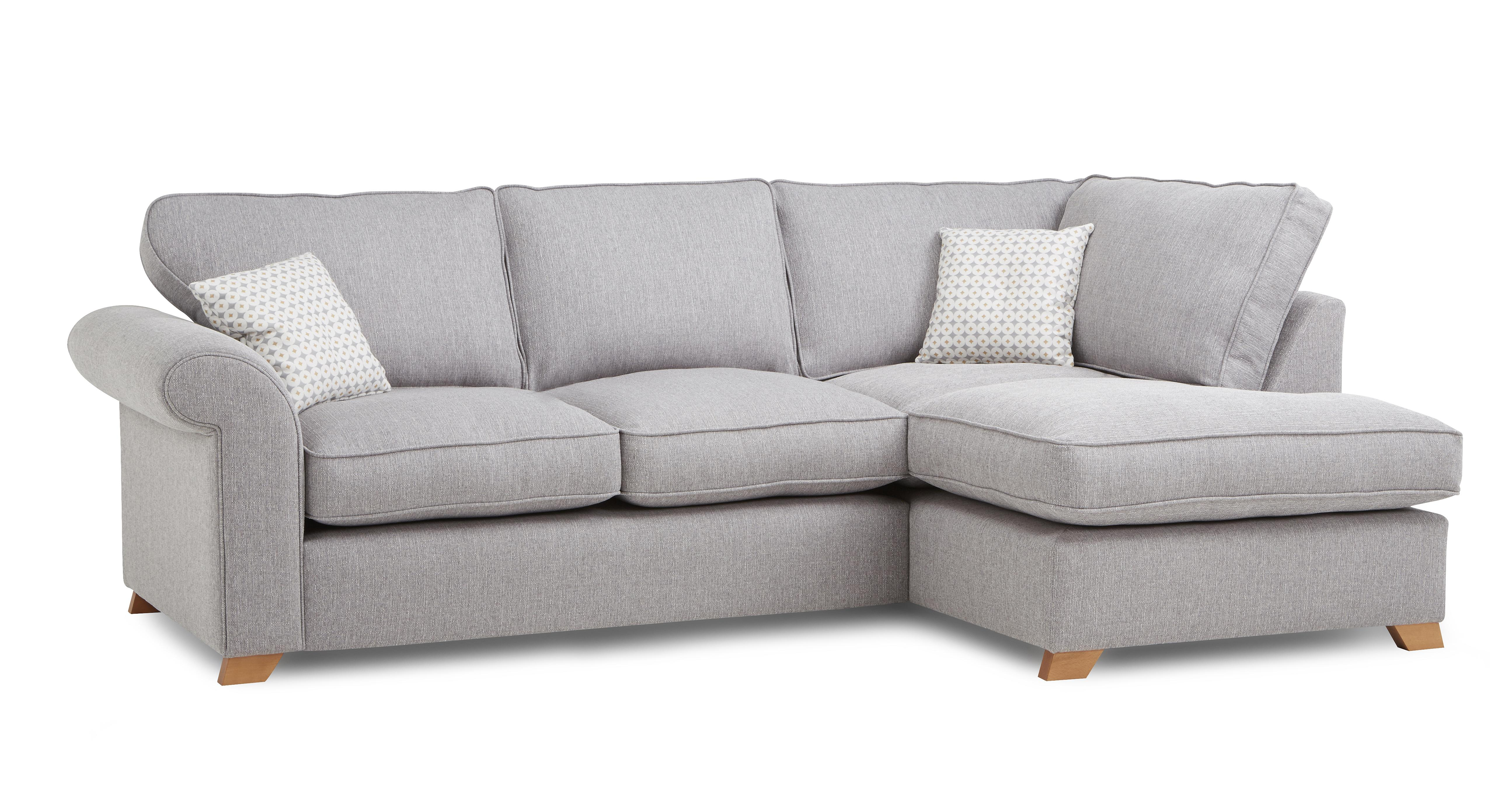 Angelic Left Hand Facing Arm Corner Sofa Cotswold Plain Dfs