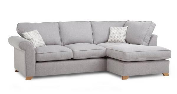 Angelic Left Arm Facing Corner Sofa Bed