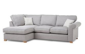 Right Hand Facing Arm Corner Sofa Bed