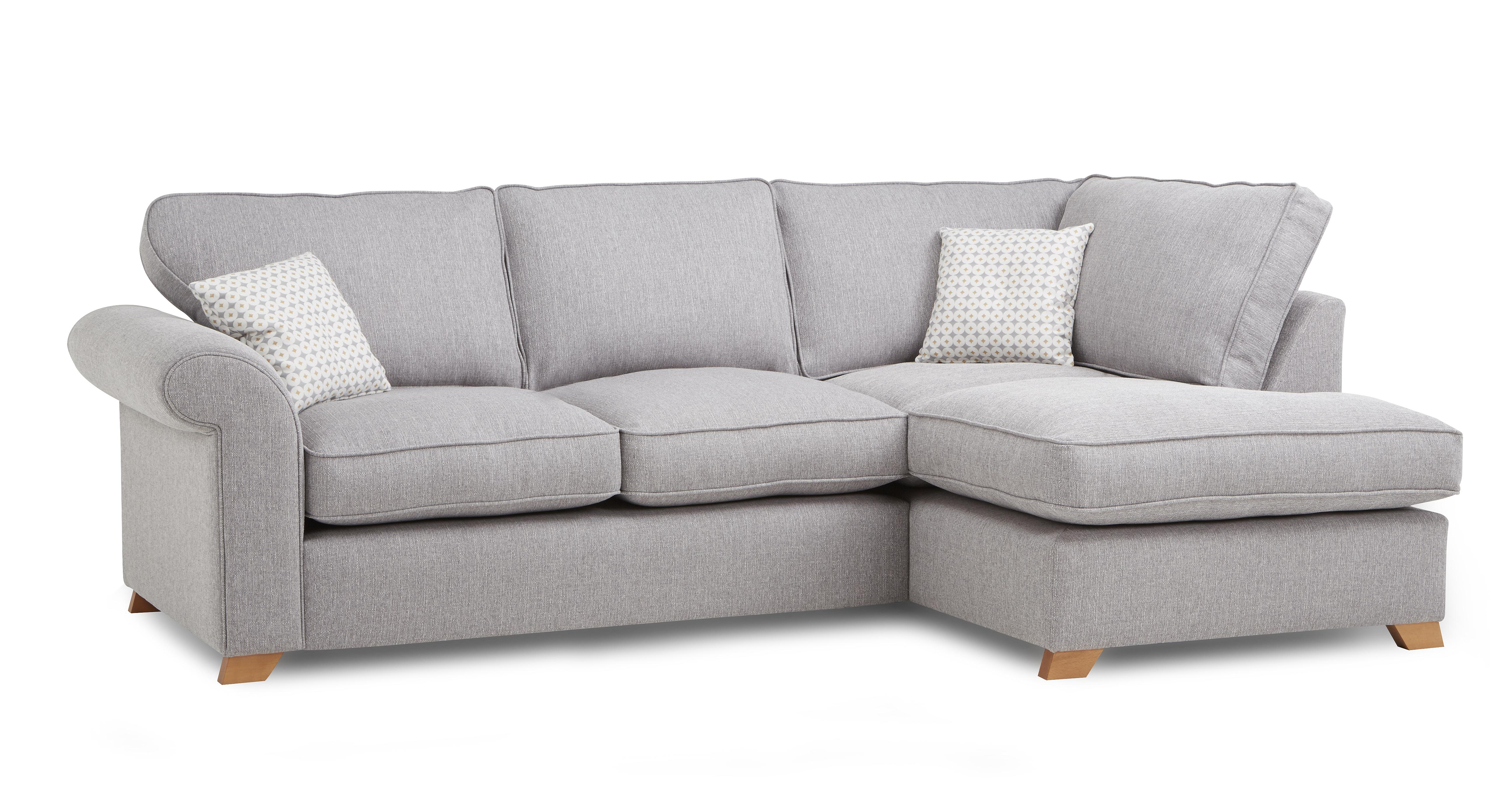 Angelic left arm facing corner deluxe sofa bed dfs for Sofa 250 x 200
