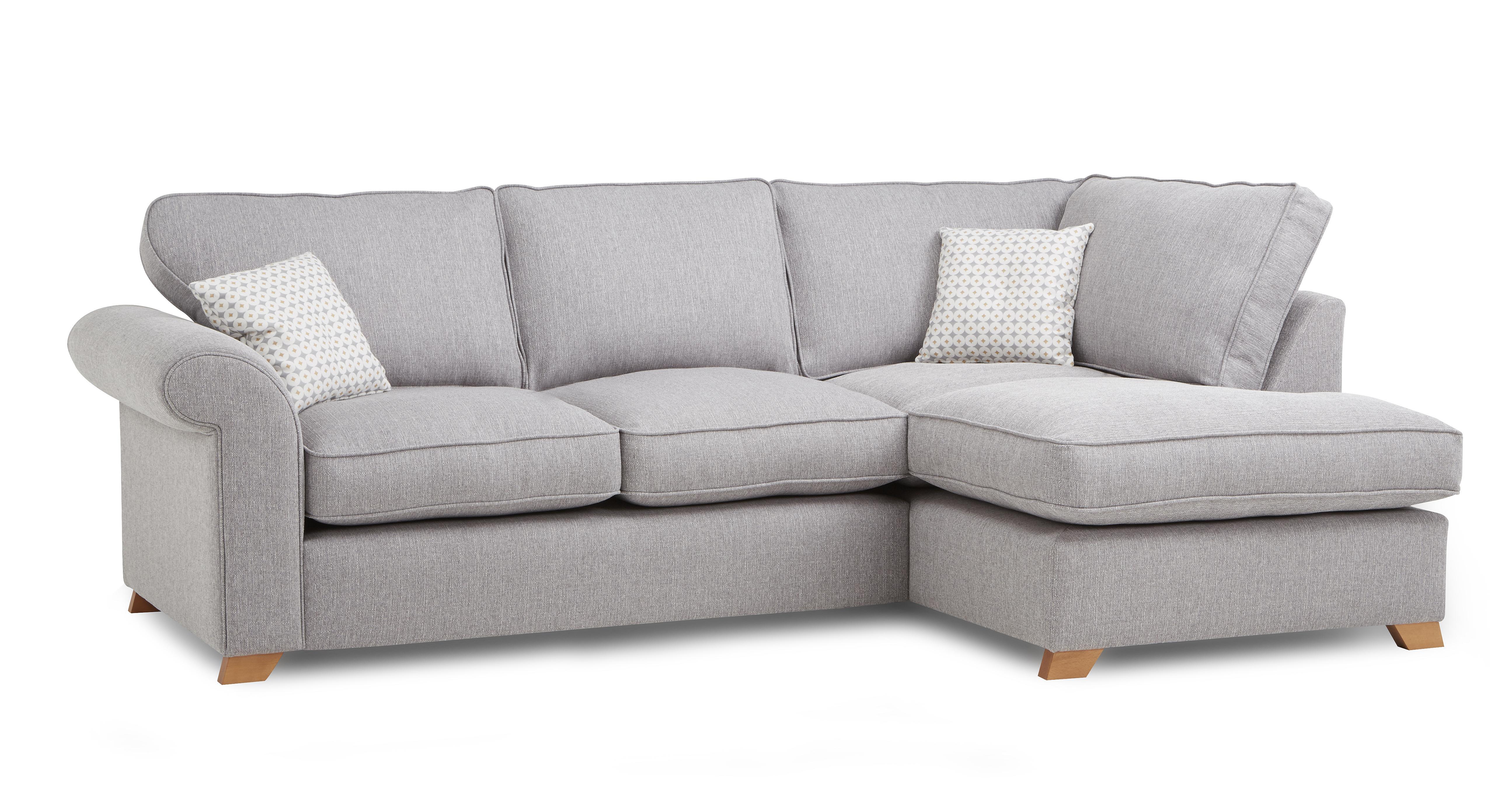 Angelic Left Arm Facing Corner Deluxe Sofa Bed