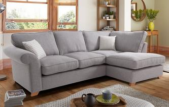 Corner Sofa Beds In Both Leather Fabric Dfs
