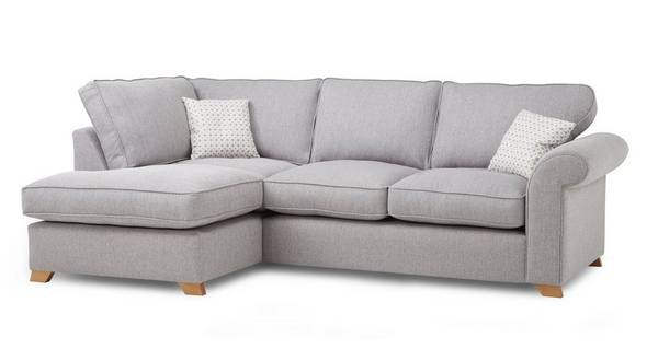 Angelic Right Arm Facing Corner Deluxe Sofa Bed