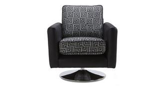 Angello Pattern Swivel Chair
