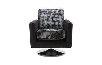 Pattern Swivel Chair Angello