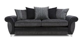Angello 4 Seater Pillow Back Sofa