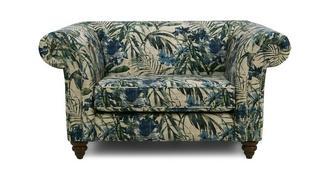 Anika Floral Cuddler Sofa